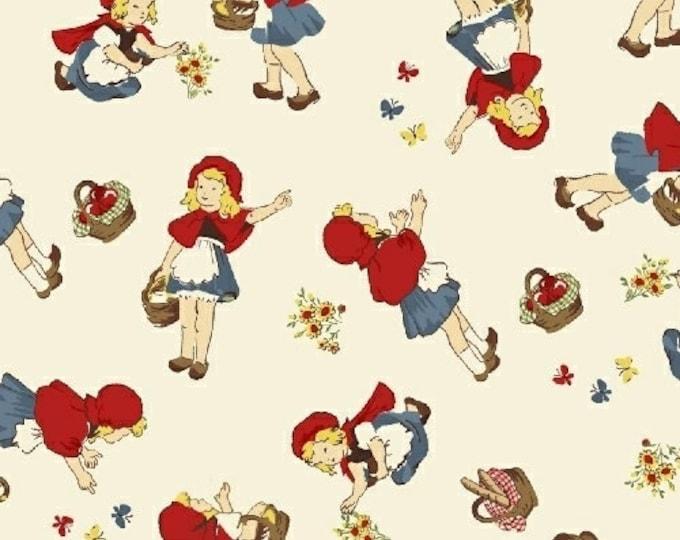 Windham Fabrics - Little Red Riding Hood -  50298-1,  Cotton Woven fabric