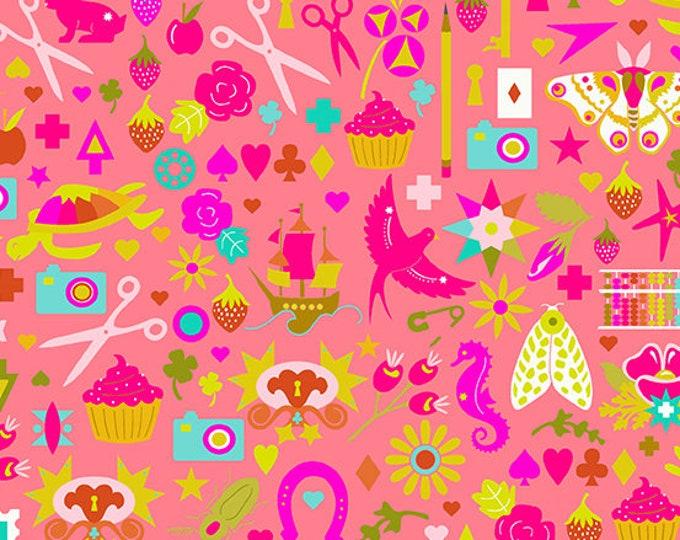 Andover Fabrics - Handiwork by Alison Glass - Decoupage Punch #9249-E - Cotton Woven Fabric