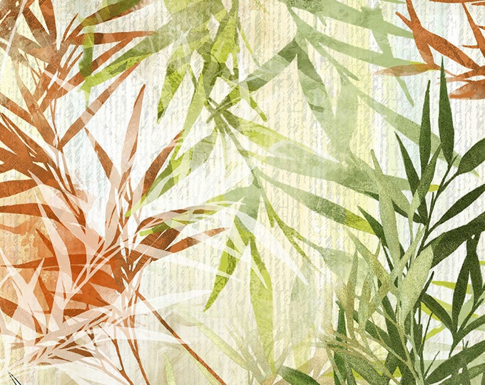 Timeless Treasures - Bamboo Grass Dance #CD7230-Multi Cotton Woven Fabric
