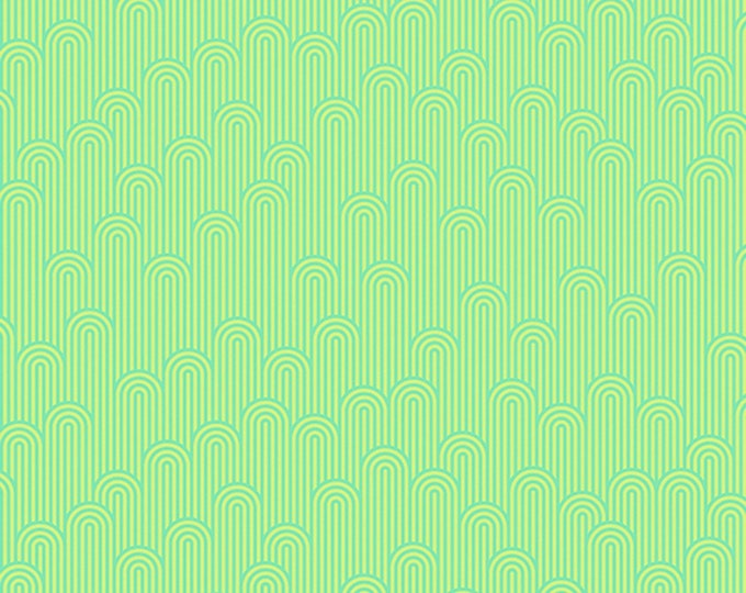 Tula Pink - Zuma - Tower - Seaglass    PWTP126-SEAG Cotton Woven Fabric