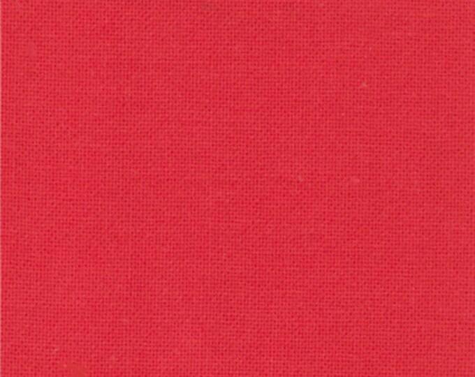 Moda Fabric - Bella Solids -  Betty's Red 9900-123 Cotton Woven