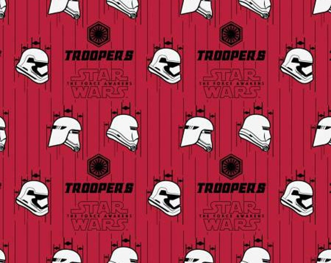 Red Star Wars, The Force Awakens Storm Troopers Cotton Woven