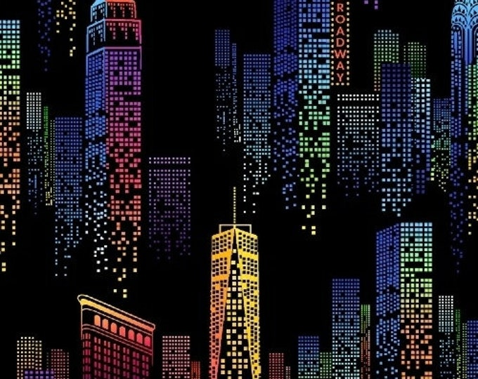 Windham - One of a Kind by Whistler Studios - Cityscape 50905-1 Cotton Woven Fabric