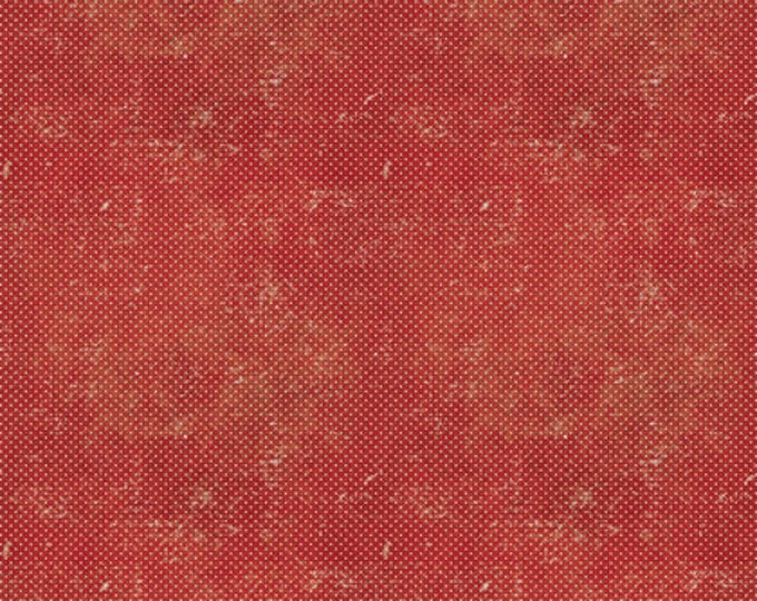 Red Dots from Merriment Cotton Woven by Tim Holtz for Freespirit