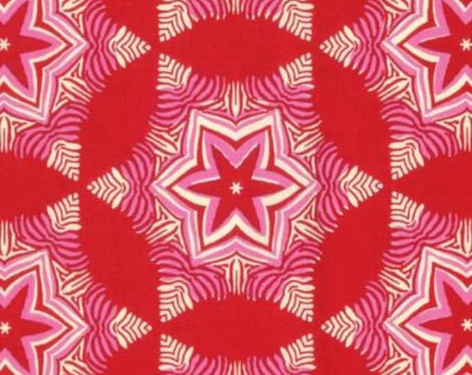 Free Spirit -  Hello Love by Heather Bailey - Guru in Red, PWHB082, Cotton Woven Fabric