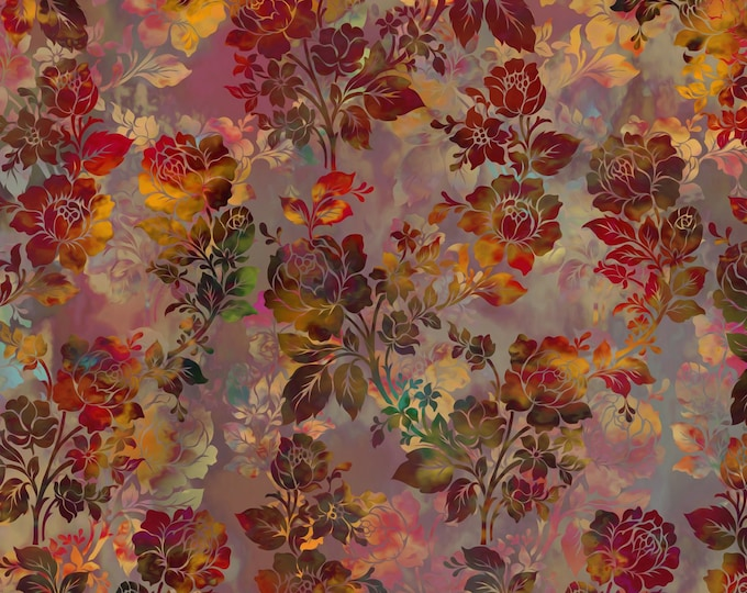Diaphanous - Brown - Cotton Woven Fabric by Jason Yenter for In the Beginning Fabrics 1ENC-2