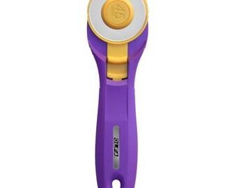 NOTION - 45MM Ofla Splash  Purple Rotary Cutter 1120311