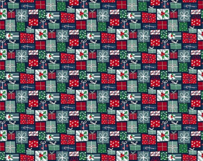 Northcott Fabrics - Fa La La Presents ! 22215-49 - Cotton Woven Fabric