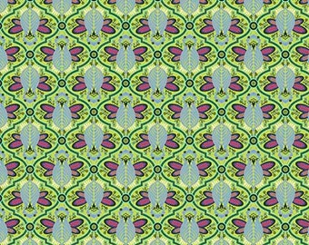 Tula Pink -  All Stars -  Agave Bee Cotton Woven Fabric