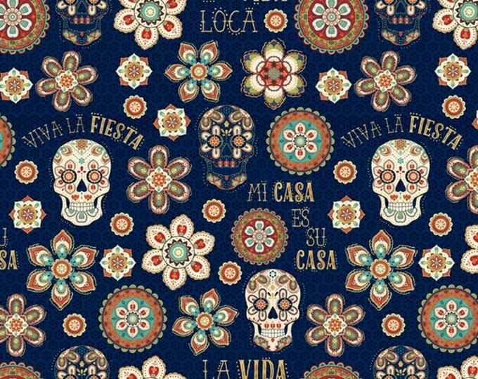 La Vida Loca - 1 Yard Cut - Cotton Woven Fabric - David Textiles
