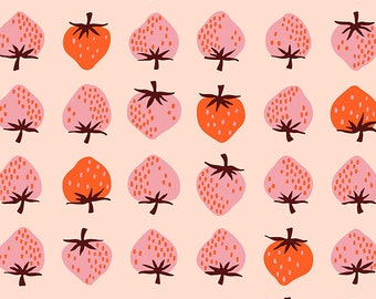 Moda Fabrics - Darlings by Ruby Star Society - Strawberry Peach RS5019 12 - Cotton Woven Fabric