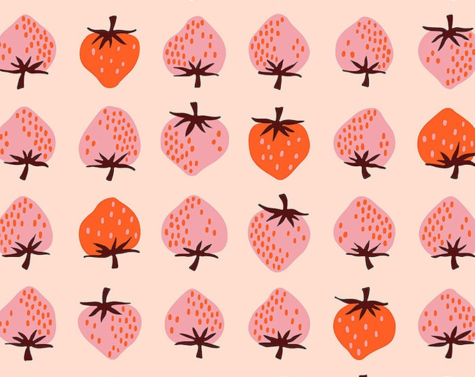 Moda Fabrics - Darlings by Ruby Star Society - Strawberry Peach RS5019 12 - Cotton Woven Fabric