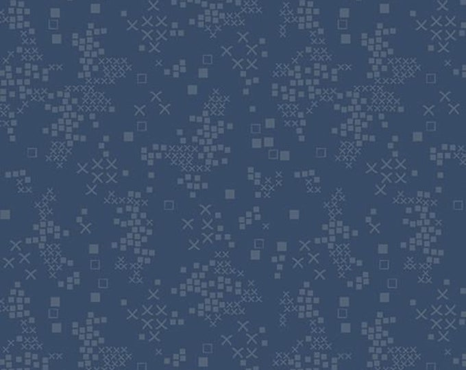 Art Gallery Fabric - Tallinn by Jessica Swift -  Sofia Midnight Cotton Woven Fabric
