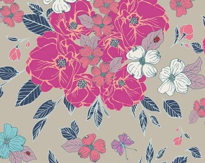 Art Gallery Fabric Flowery Chant-Wild- Cotton Woven