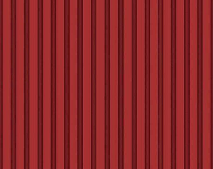 Santoro, Gorjuss, Letters from the Heart,  Cranberry Stripe Cotton Woven
