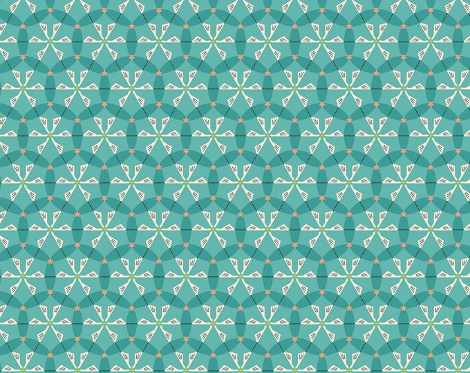 CLEARANCE -   FIGO Fabrics - Special Delivery by Lemonni - 90010-64 Cotton Woven Fabric - Priced per Yard