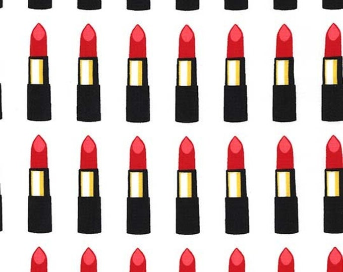 Michael Miller - Glam Girls - Read My Lipstick - Rouge - Cotton Woven Fabric