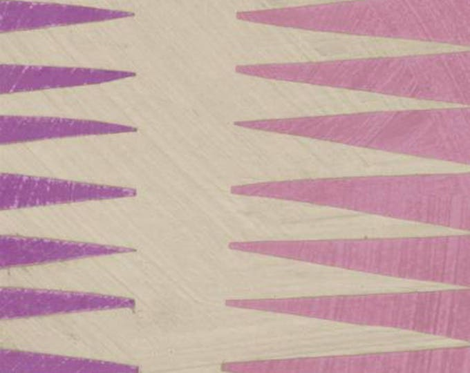 Windham Fabrics - Dreamer by Carrie Bloomston - Orchid Pueblo Stripe Cotton Woven Fabric