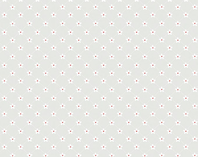 Vintage Adventure - Riley Blake -  - Trellis Gray c7276 - Cotton Woven Fabric