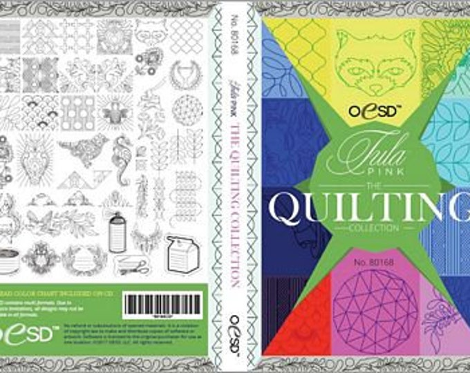 Notion - OESD Tula Pink: The Quilting Collection - Digital embroidery designs
