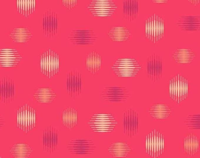 Andover Fabrics - Tattooed by Libs Elliott -  Red Highline  A-8439-R Cotton Woven Fabric