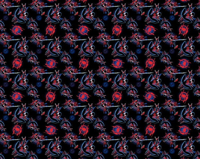 Marvel Spider-Verse # 68128A620715 Licensed Cotton Woven Fabric - Springs Creative