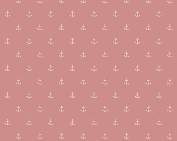 CLEARANCE - Art Gallery Fabric - Enchanted Voyage by Maureen Cracknell -Nautique Spell Blush ENV-71781 Cotton Woven Fabric - Priced per yard