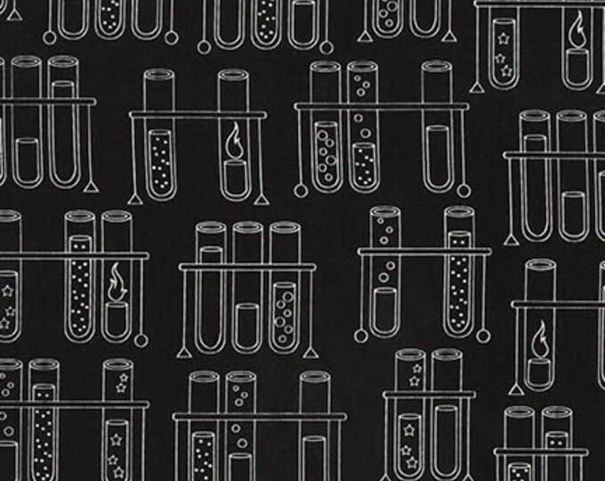 Science Fair -Black-SRK-17928-2 - Cotton Woven Fabric - Robert Kaufman