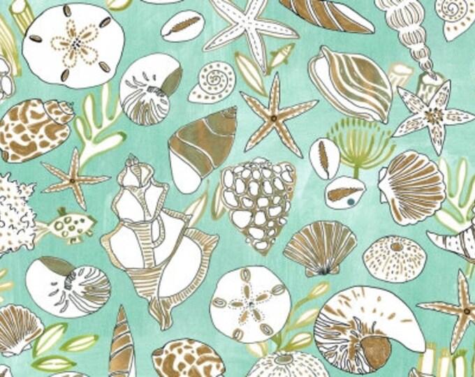 Dear Stella - High Seas by August Wren - Shells Stella-DAW1369-Multi - Cotton Woven Fabric