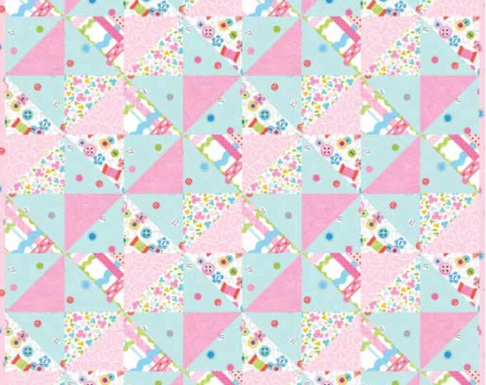 """Quilt Kit - Studio E - Sew Kind by Stitches by Charlotte  - 20"""" x 20"""" Doll QuiltIncludes pattern, backing and binding"""