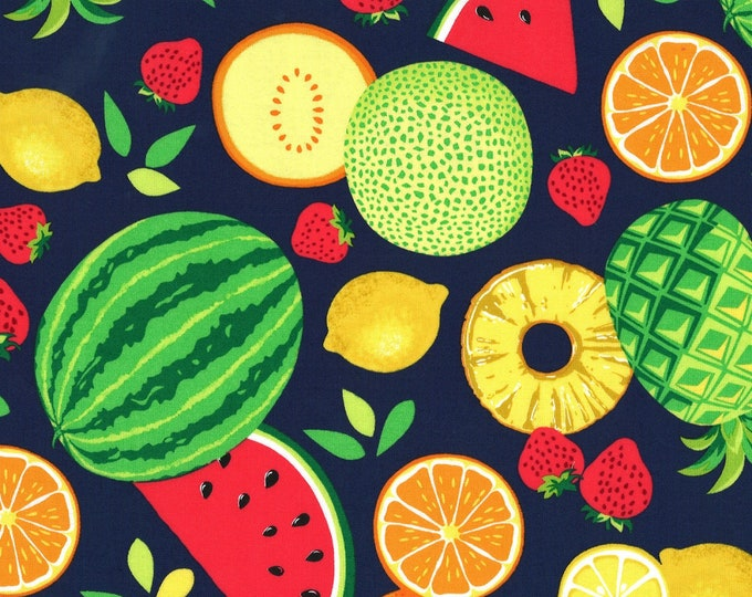 Michael Miller Fabrics - Sew Fruity - Tropical Fruit Toss # CX8518-TROP - Cotton Woven Fabric