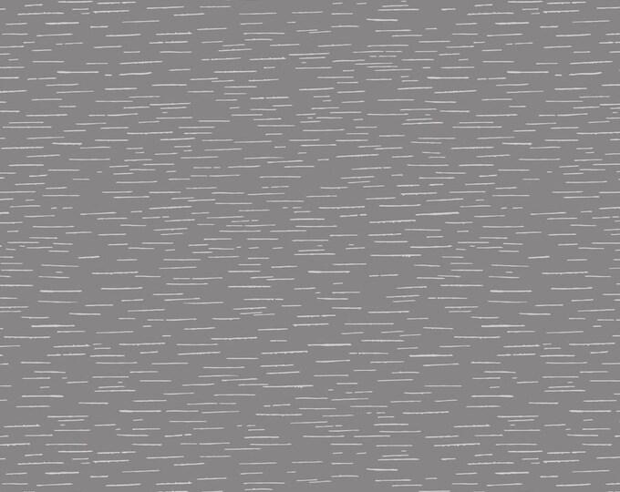 Birch Grey A312.3 Cotton Woven Fabric - Bear Hug - Lewis & Irene