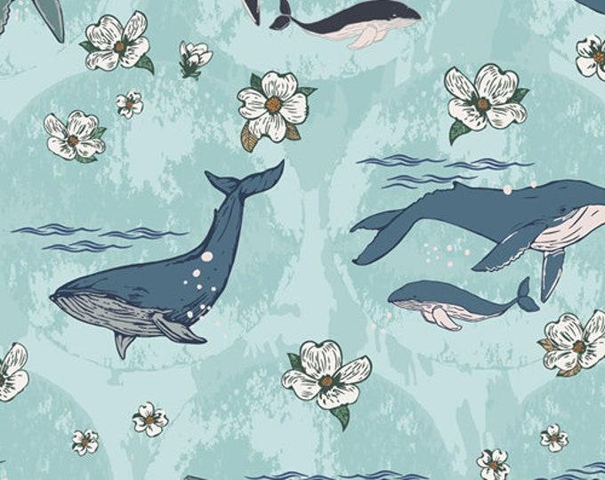 Art Gallery Fabrics - Enchanted Voyage by Maureen Cracknell - Underwater Enchant Solar ENV-61780 - Cotton Woven Fabric
