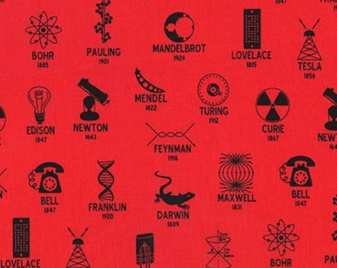 Science Fair Red-SRK-18000-3 - Cotton Woven Fabric - Robert Kaufman
