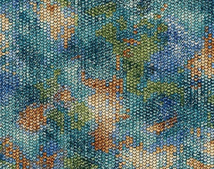 Robert Kaufman Fabrics - Atlantia - Seaglass SRKM-18284-333  Cotton Woven Fabric