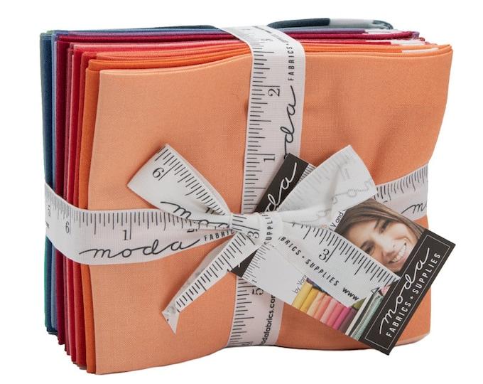 Moda Fabrics - Ombre  12 Fat Quarter Bundle -  Stock #- 10800ABN - Factory Precut Cotton Woven Fabric