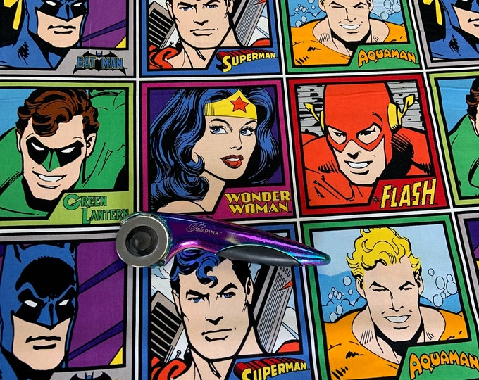 """SPECIAL BUY! Priced per 35.5"""" we cut between the lines! Camelot Fabric - Marvel Comics - Meet the Heroes 23400301WM 01  Cotton Woven Fabrics"""