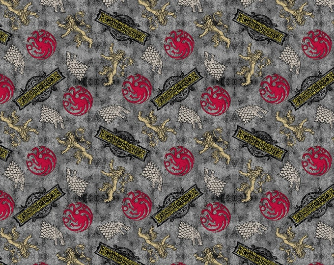 Springs Creative - Licensed Game of Thrones - HBO Game of Thrones Power Play #642736510715 Cotton Woven Fabric