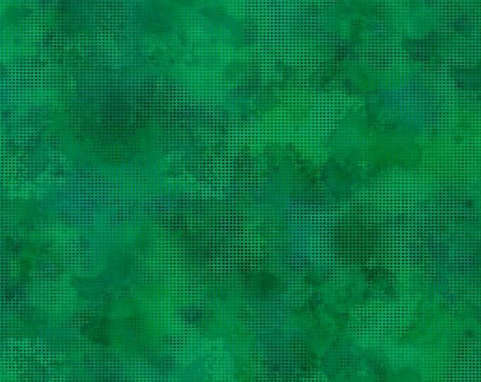 In the Beginning Fabrics - Dit Dot Evolution by Jason Yenter - Emerald  1dde_26 Cotton Woven Fabric
