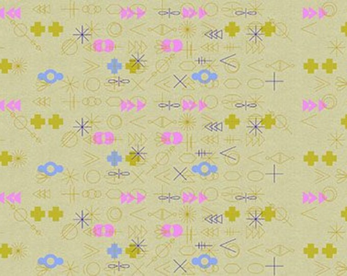 Andover Fabrics -  Adorn by Alison Glass - ALN-8581-Y Tailored Cloth Linen Blend