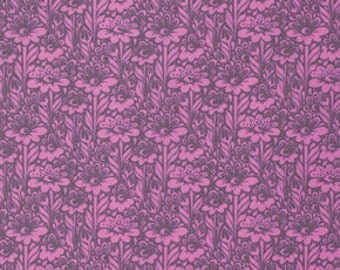 Tula Pink -  Daisy Buds Wisteria cotton woven fabric by Free Spirit