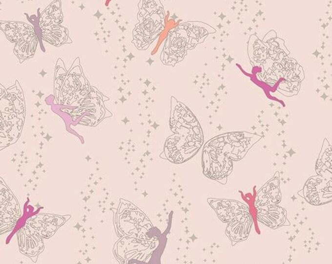 Art Gallery Fabric - Flower Child - Prairie Fairies - Day- Cotton Woven