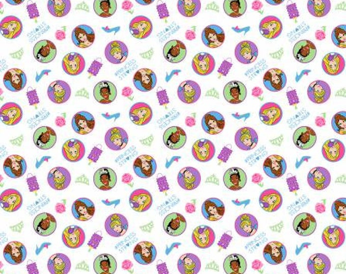 Disney Princess Strong cotton Lycra Knit fabric