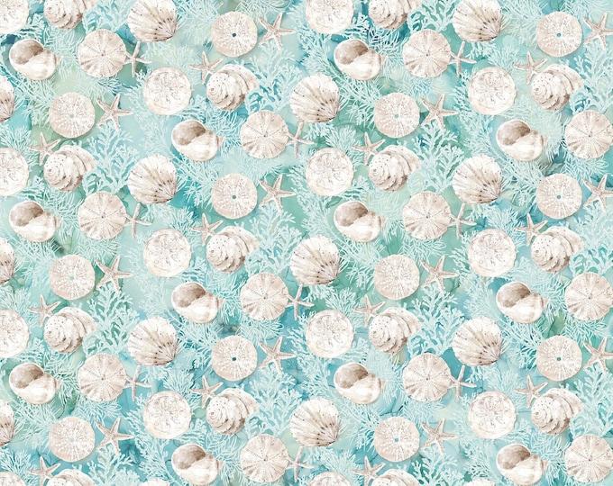 Northcott - White Sands by Melanie Samra - DP22708-62 Digitally Printed Cotton Woven Fabric