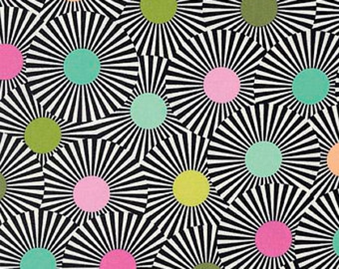 Tula Pink Clear Skies, Strawberry Kiwi cotton woven fabric