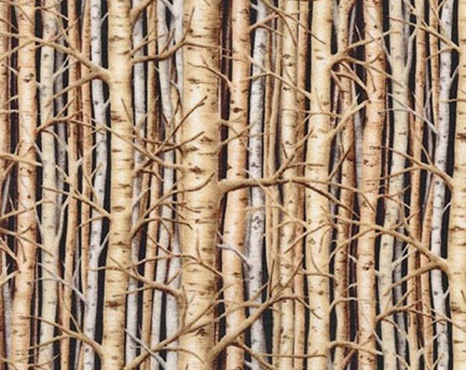 Robert Kaufman Fabrics - Last Frontier - Trees in Nature - Digitally Printed SKRD-8867-268 Cotton Woven Fabric