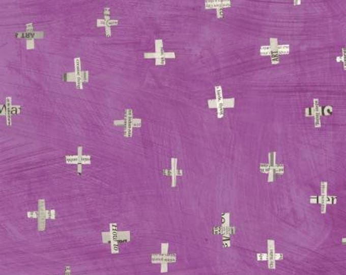 Windham Fabrics - Dreamer by Carrie Bloomston - Orchid Flying Birds Cotton Woven Fabric