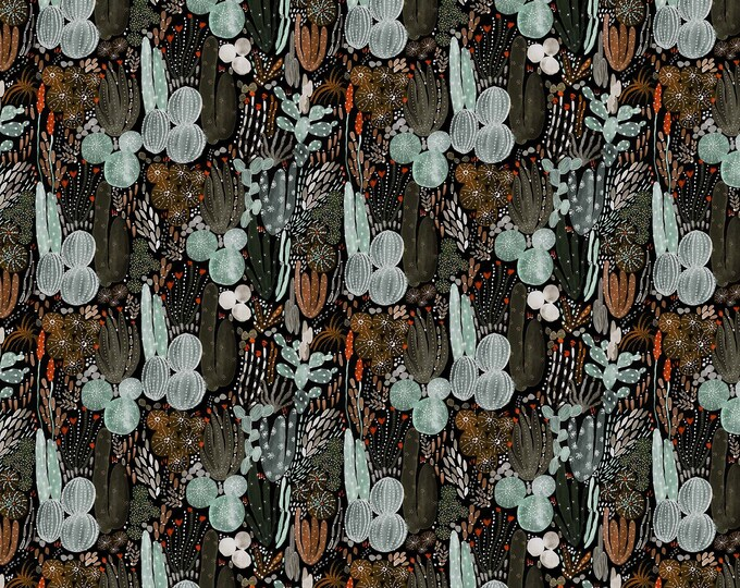 FIGO Fabrics - Desert Wilderness - R90097-99 - 100% Rayon Fabric