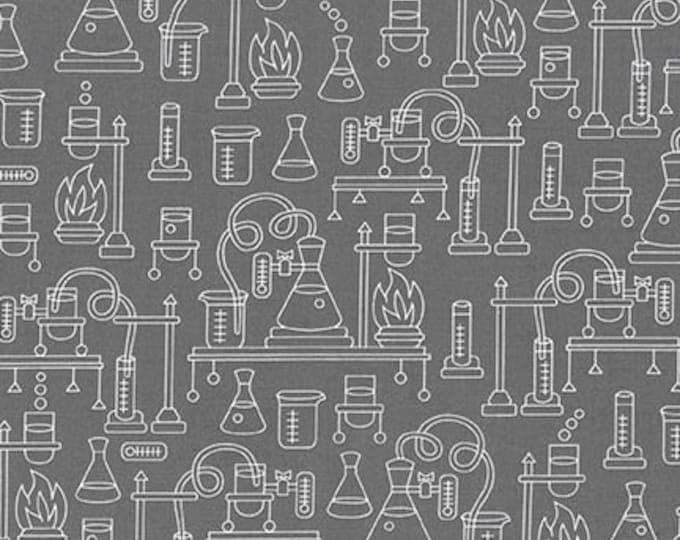 Science Fair -Grey -SRK-17929-12 - Cotton Woven Fabric - Robert Kaufman