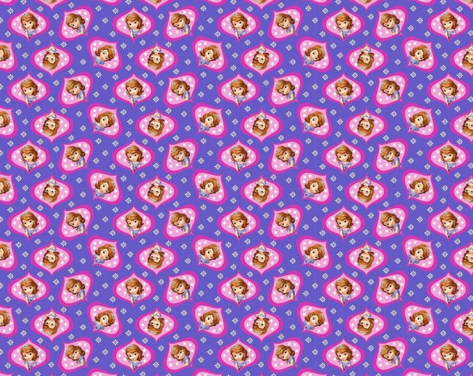 CLEARANCE -       Sofia Cotton by Springs Creative 1 Yard listing  - Price per yard